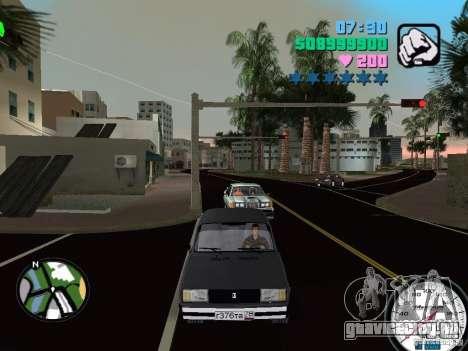 Ваз 2105 для GTA Vice City вид слева