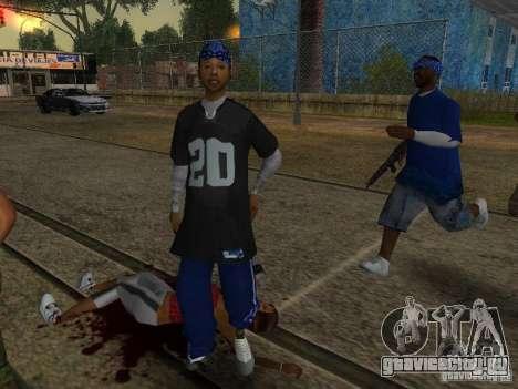 Crips для GTA San Andreas