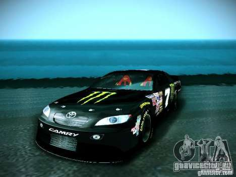 Toyota Camry Nascar Monster Energi Nr.7 для GTA San Andreas