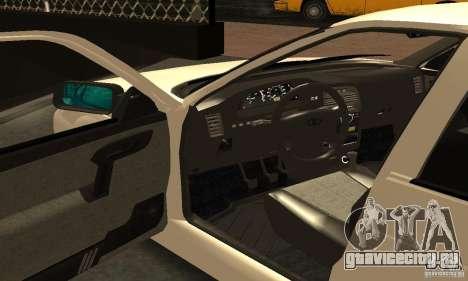 ВАЗ 2112 Tuning для GTA San Andreas вид сбоку