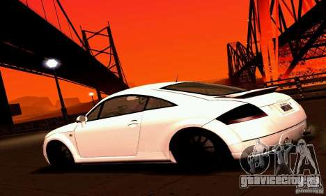 Audi TT Light Tuning для GTA San Andreas вид слева