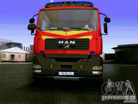 MAN FHN Бакинская ПЧ для GTA San Andreas
