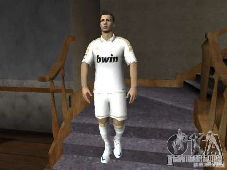 Cristiano Ronaldo для GTA San Andreas