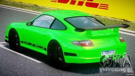 Porsche 997 GT3 RS для GTA 4 вид справа