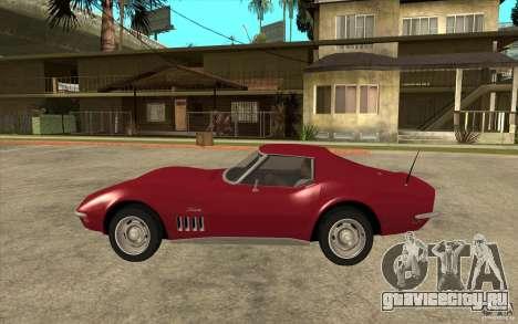 Chevrolet Corvette Stingray для GTA San Andreas
