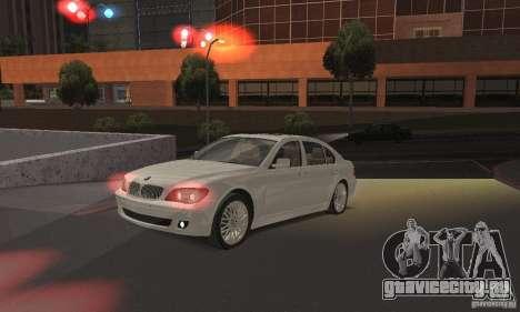 Красный цвет фар для GTA San Andreas второй скриншот
