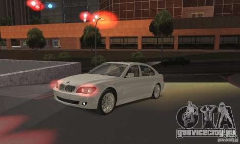 Красный цвет фар для GTA San Andreas