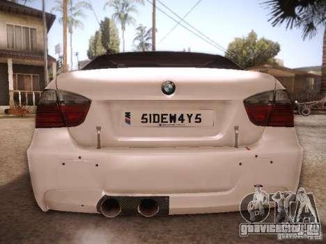 BMW 320SI Drift для GTA San Andreas вид справа