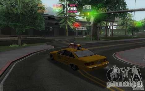 Radio Hud IV для GTA San Andreas второй скриншот
