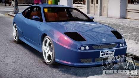 Fiat Coupe 2000 для GTA 4 вид снизу