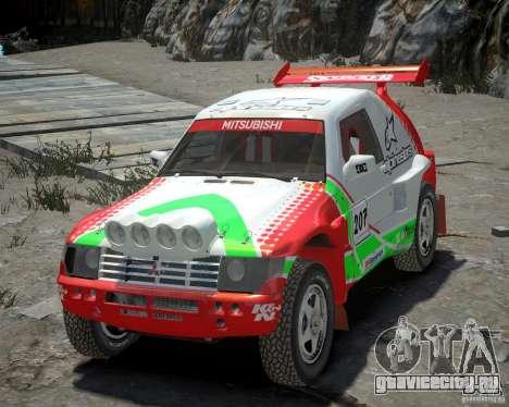 Mitsubishi Pajero Proto Dakar EK86 Винил 2 для GTA 4
