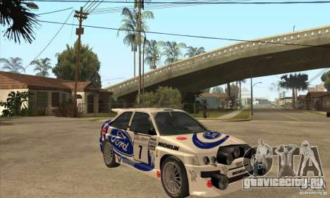 Ford Escort RS Cosworth для GTA San Andreas салон