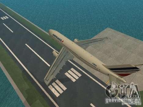 Airbus A300-600 Air France для GTA San Andreas
