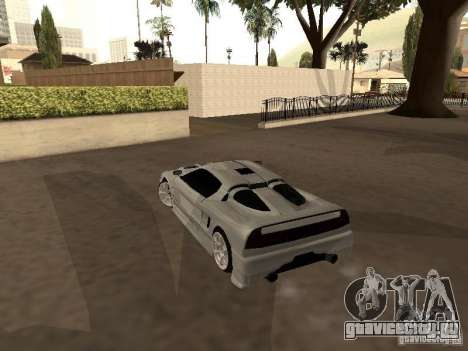 Infernus GT для GTA San Andreas вид справа