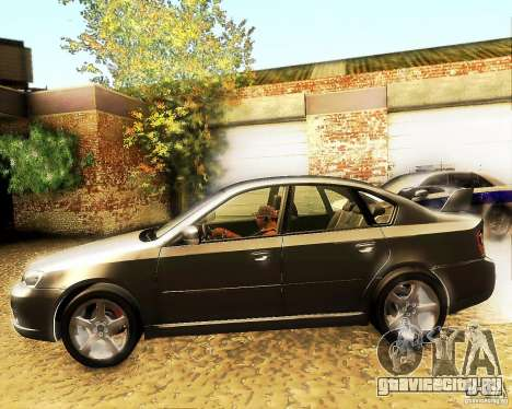 Subaru Legacy 3.0 R tuning для GTA San Andreas вид слева