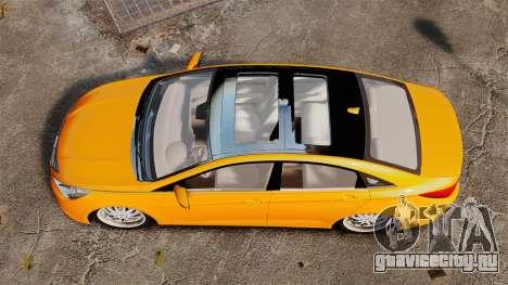 Hyundai Sonata 2011 v2.0 для GTA 4 вид справа