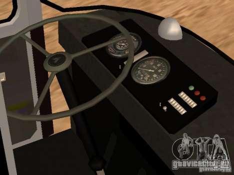 ЛАЗ 695Н для GTA San Andreas вид сбоку