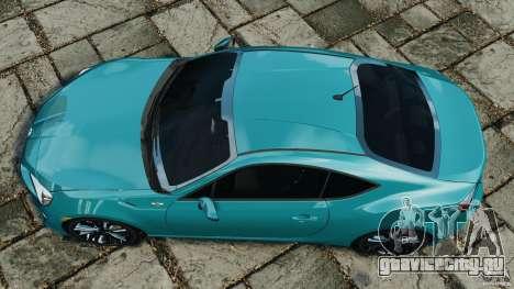 Scion FR-S для GTA 4 вид справа