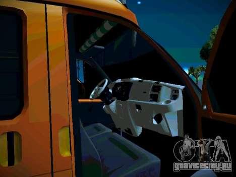 ГАЗель 2705 Бизнес для GTA San Andreas вид сбоку