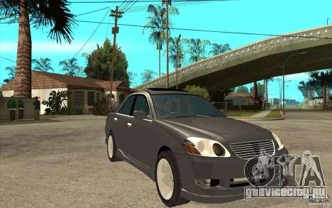 TOYOTA MARK II RY для GTA San Andreas вид сзади