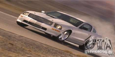 Загрузочные экраны в стиле Ford Mustang для GTA San Andreas девятый скриншот