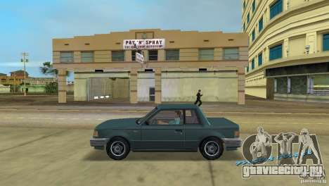 Manana HD для GTA Vice City вид слева