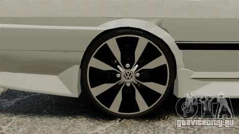 Volkswagen Santana Shanghai Century Rookie для GTA 4 вид сзади