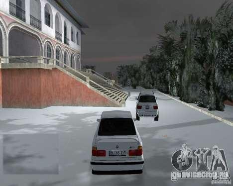 BMW M5 E34 1990 для GTA Vice City вид справа