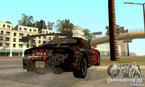 Mazda RX-7 FD3S для GTA San Andreas вид справа