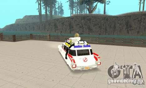 Ghostbusters ECTO 1 для GTA San Andreas вид слева