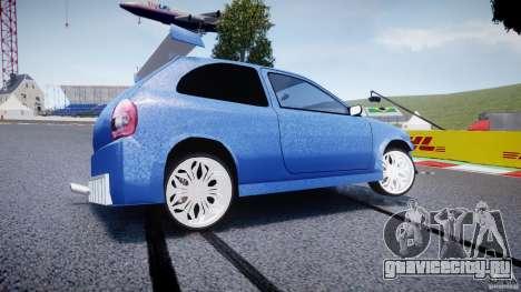 Chevrolet Corsa Extreme Revolution для GTA 4 вид слева