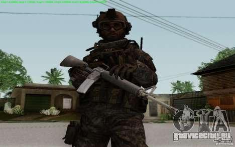 M16A2 для GTA San Andreas второй скриншот