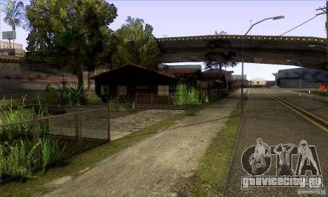 Grove Street Retextured для GTA San Andreas третий скриншот