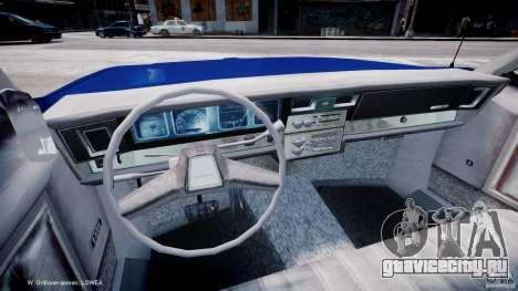 Chevrolet Impala Police 1983 [Final] для GTA 4 вид сзади