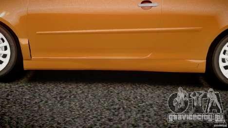 Volkswagen Golf R32 v2.0 для GTA 4 салон