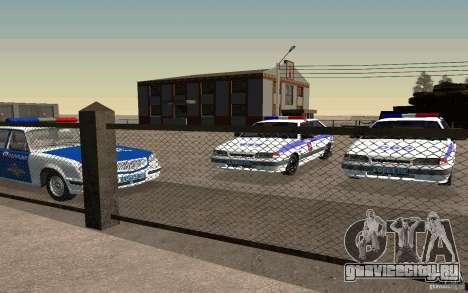 Ваз 2114 ОВО Полиция для GTA San Andreas вид справа