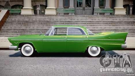 Plymouth Belvedere 1957 v1.0 для GTA 4 вид слева
