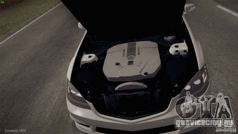 Mercedes-Benz S65 AMG для GTA San Andreas вид сбоку