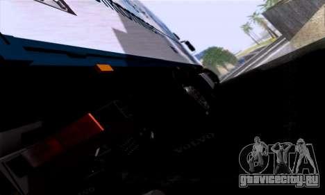 Volvo F10 для GTA San Andreas вид сзади