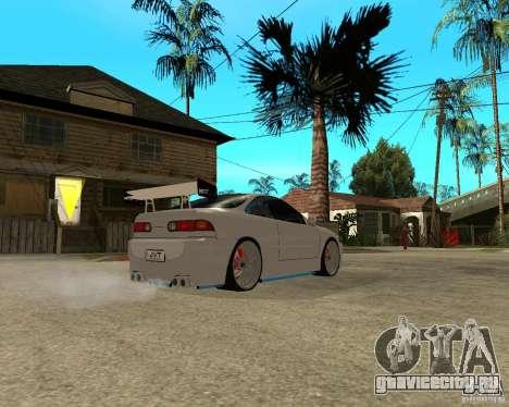 Honda Integra TUNING для GTA San Andreas вид сзади