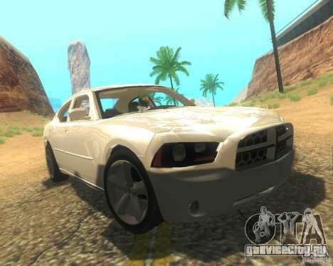 Dodge Charger 2011 для GTA San Andreas салон
