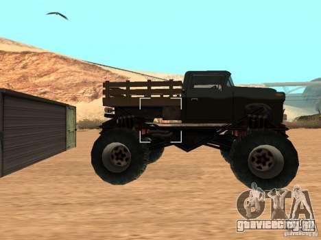 Walton Monster для GTA San Andreas вид слева