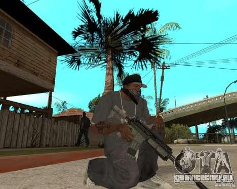 M4A1 с коллиминотарным прицелом. для GTA San Andreas второй скриншот