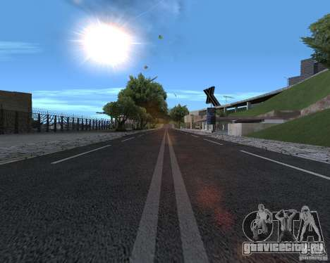 Новые дороги для GTA San Andreas второй скриншот