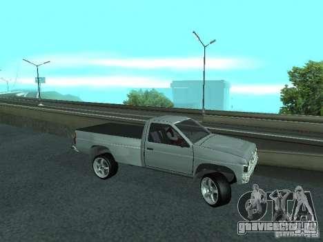 Nissan Pick-up D21 для GTA San Andreas вид сбоку