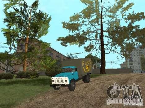 ГАЗ 52 для GTA San Andreas вид изнутри