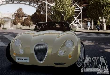 Wiesmann MF3 Roadster Final для GTA 4 вид изнутри
