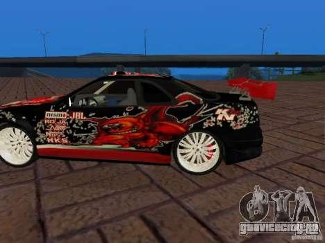 Nissan Skyline GT-R R34 Tunable для GTA San Andreas вид сзади