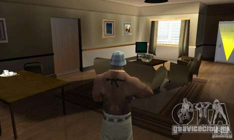 CJ Total House Remode для GTA San Andreas второй скриншот
