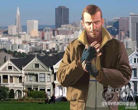 Загрузочные экраны Сан Франциско для GTA 4 четвёртый скриншот
